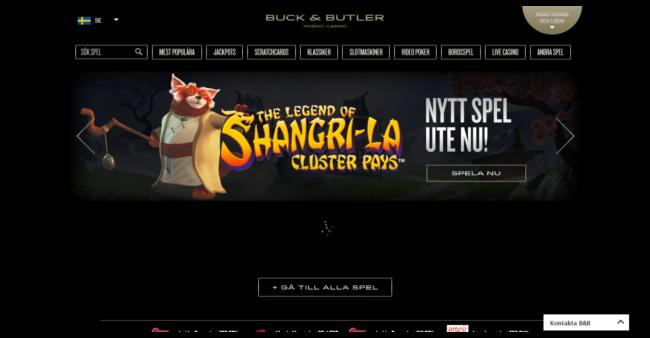Buck & Butler Casino