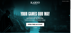 Kaboo Casino Recension