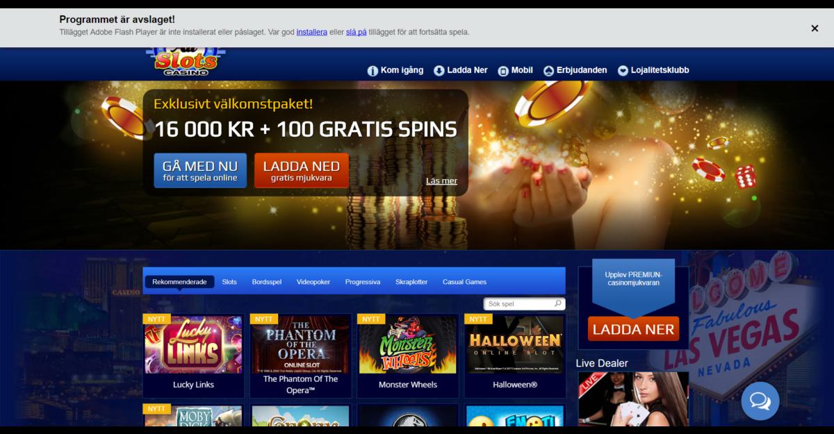 All Slots Casino Recensione