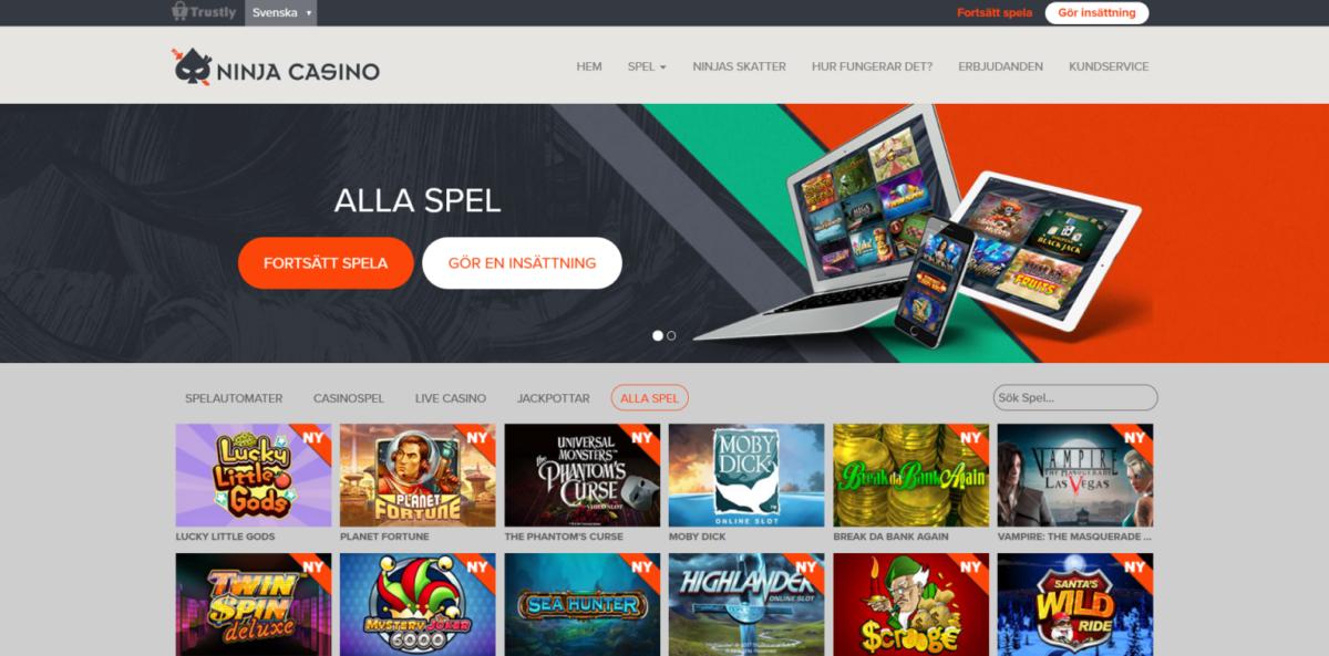 Ninja Casino Spelautomat