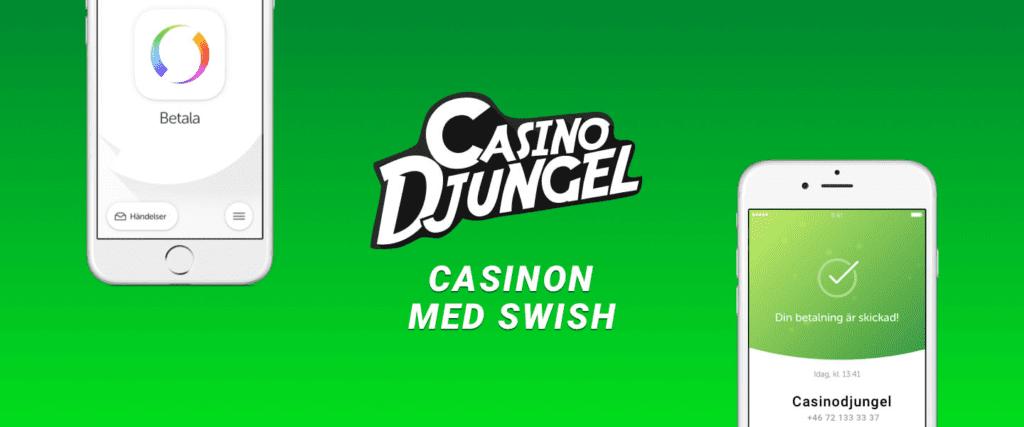 Det säkraste sättet att göra betalningar är med casino med swish