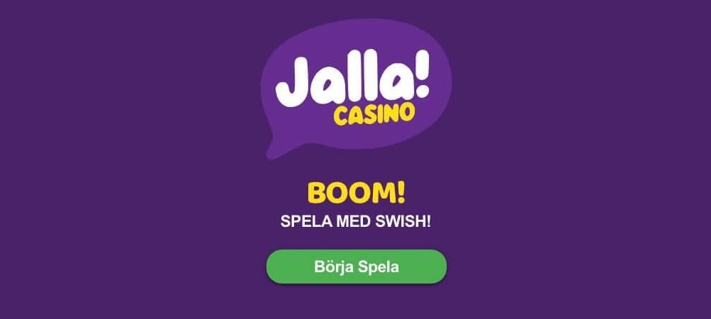 jalla är ett casinon med swish så njut av det och använd den här fantastiska betalningsmetoden